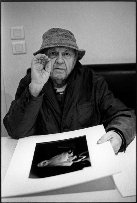 Saul Leiter, Paris, 2008 -by Martine Franck [+] from Magnum Photos