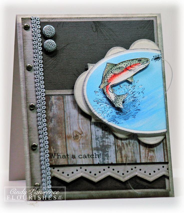 Открытки ручной для рыбака