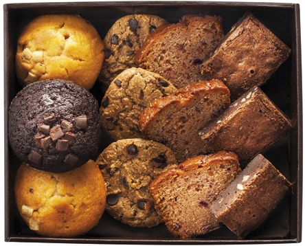 SWEET CAKE pour 8-10 personnes - 3 muffins - 3 cookies - 3 part de cakes - 3 brownie