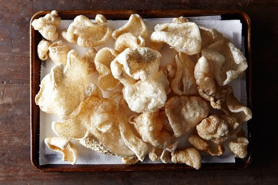 Chicharrón with Lime and Chili Salt. http://food52.com/recipes/33006-chicharron-with-lime-and-chili-salt