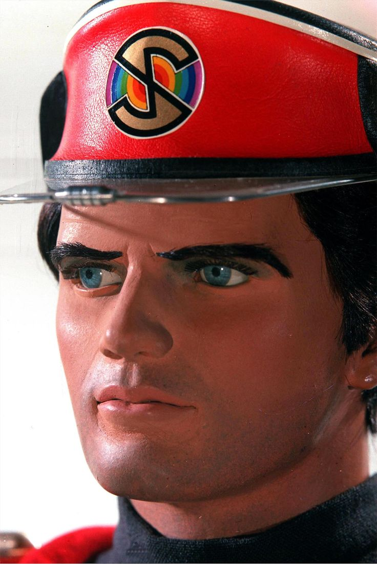 Captain Scarlet...what a fine looking puppet!