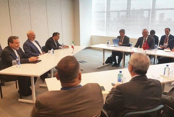 Zarif holds high-profile meetings in New York - Tehran Times