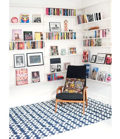 floor rug and chair