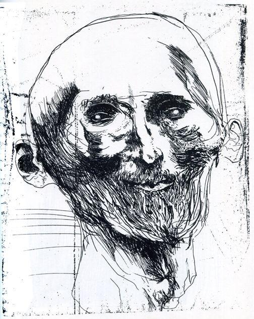 Names Of Line Drawing Artists : Leonard baskin faces pinterest printmaking etchings