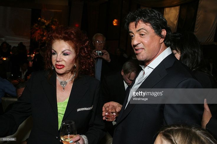 2006: Jackie Stallone and Sylvester Stallone