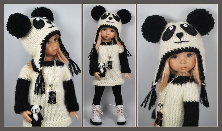 """""""Panda"""" outfit from maggie_kate_create sold 12/4/14 for one bid of $75.00"""