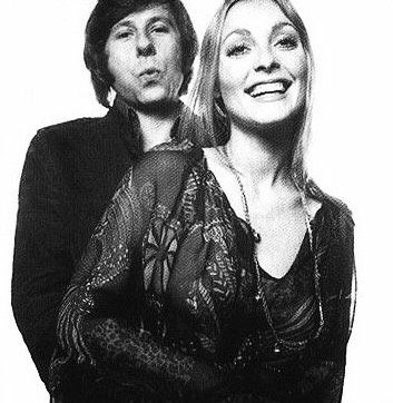 Roman Polanski and Sharon Tate, photographed in 1969 by David Bailey