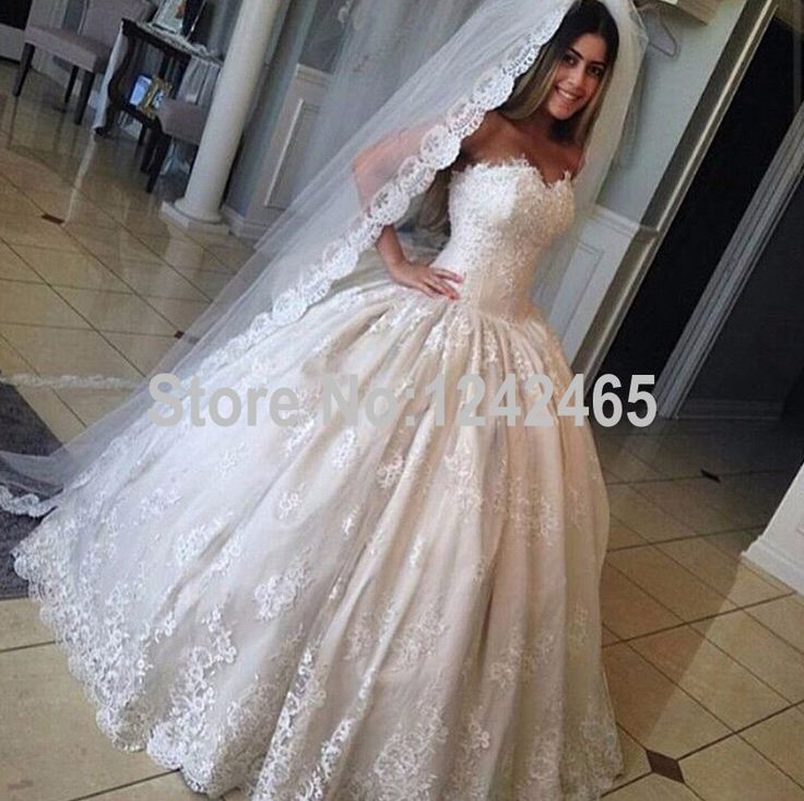 Cheap Dress Buy Quality Dresses Retail Directly From China Thailand Suppliers Country Style Ball Gown Sweetheart Wedding With Veil Floor Length