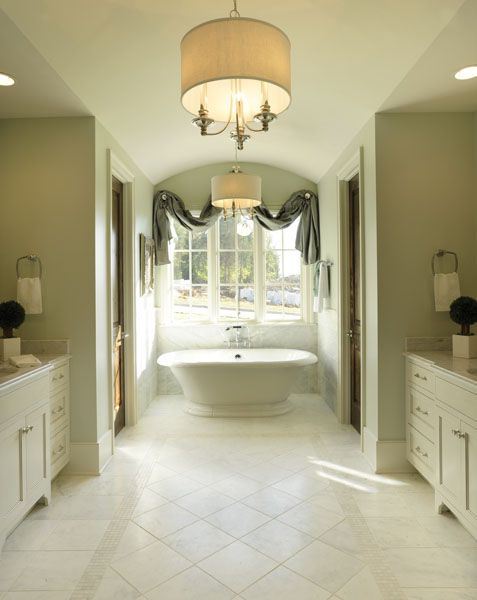 The Master Bath By Jennifer Jones With Product Traditions In Tile Features Carrera
