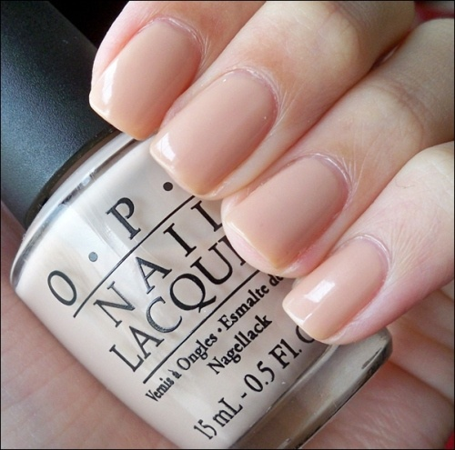 OPI Samoan Sand, the perfect nude