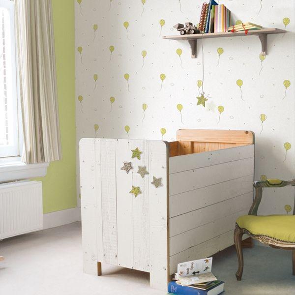 17 best images about papel pintado infantil bebe babies on - Habitaciones con papel pintado ...