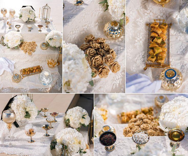 <h1>Sepideh & André</h1> <h4>Iranian Wedding at La Maltese Santorini</h4>