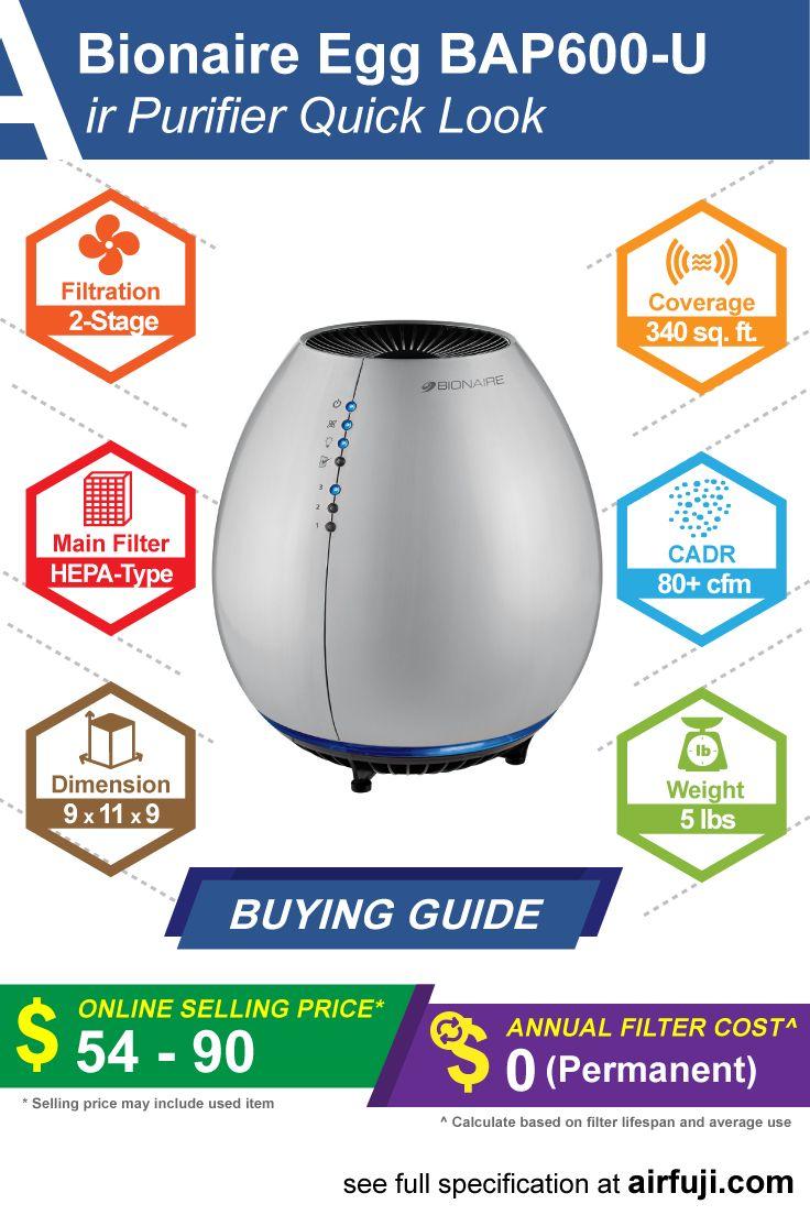 Bionaire Egg BAP600U air purifier review, price guide