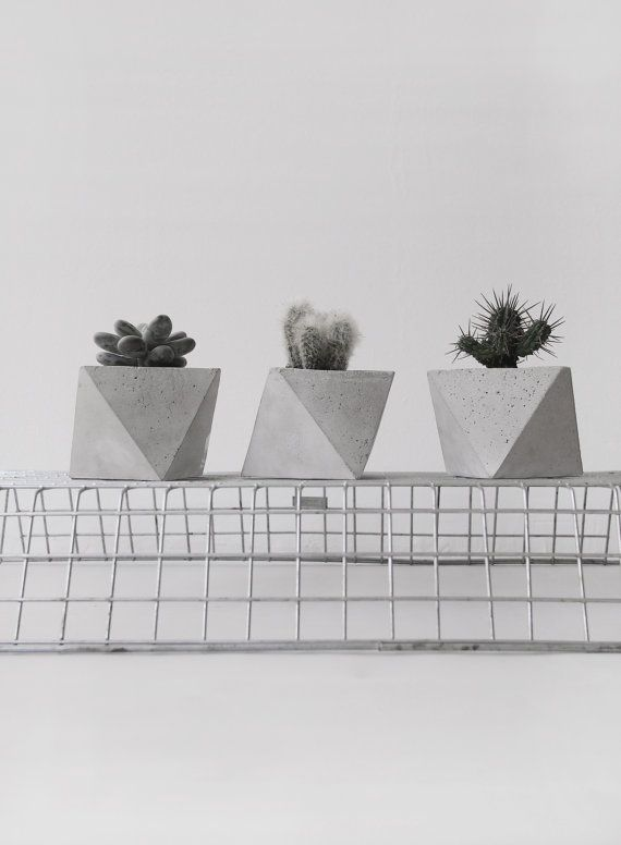 ℳ geometric planters