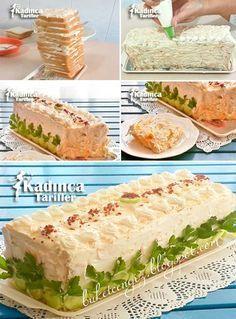 Tost Ekmeği Salatası Tarifi