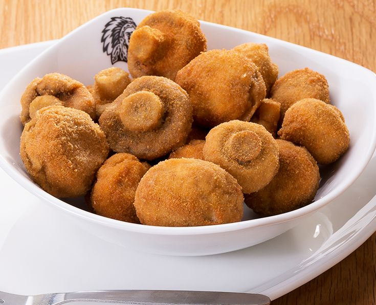 Crumbed Mushrooms: Served with tartare sauce. https://www.spur.co.za/menu/starters/