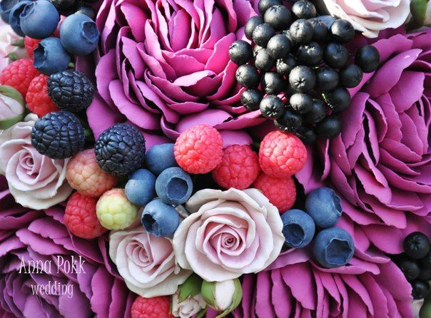 ANNA POKK *студия ручной работы*Цветы из глины