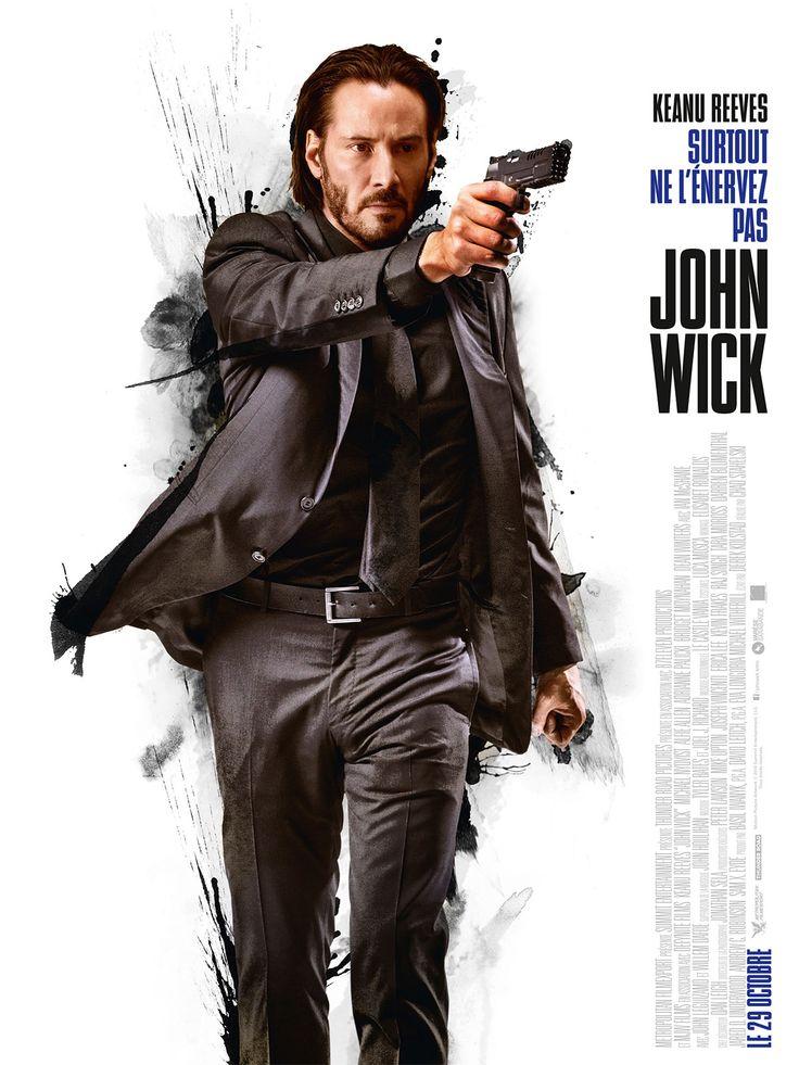 John Wick est un film de David Leitch avec Keanu Reeves, Michael Nyqvist. Synopsis : Depuis la mort de sa femme bien-aimée, John Wick passe ses journées à retaper sa Ford Mustang de 1969, avec pour seule compagnie sa chienne Daisy. Il