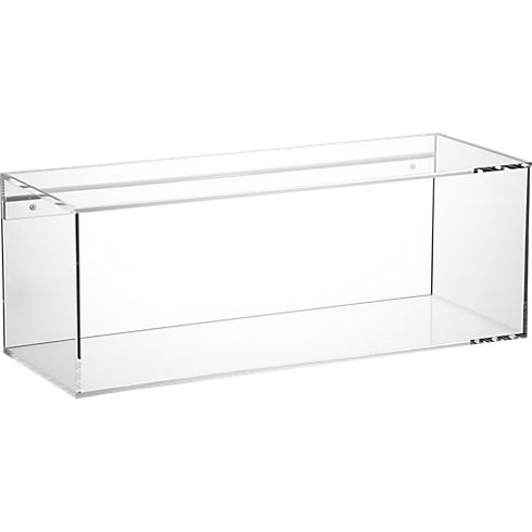 format storage shelf in storage | CB2