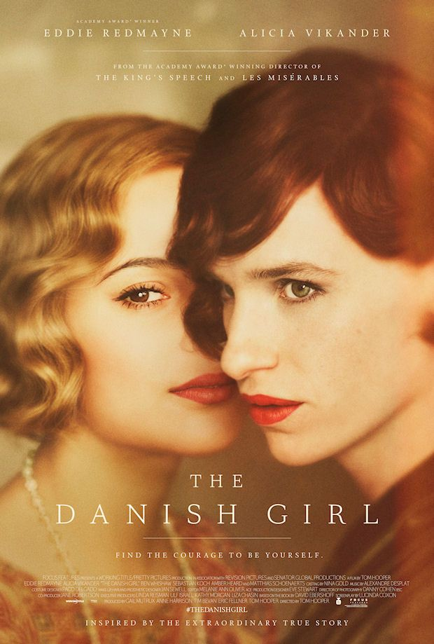 THE DANISH GIRL movie, no words to sufficiently convey how outstanding this film is.