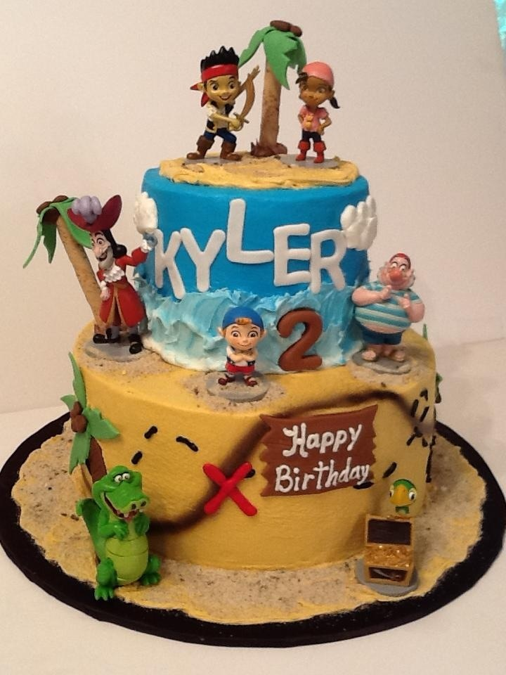 jake and the neverland pirates tiered cake - photo #7