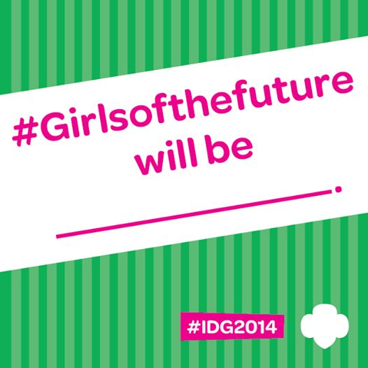 Fill in the blank: #Girlsofthefuture will be ______.