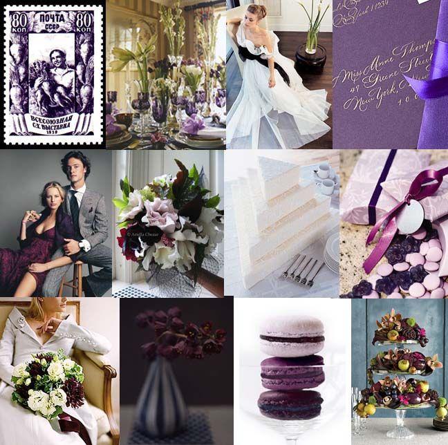 Eggplant Color Schemes: Royal Purple Color Scheme. If This Was Lavender It Would