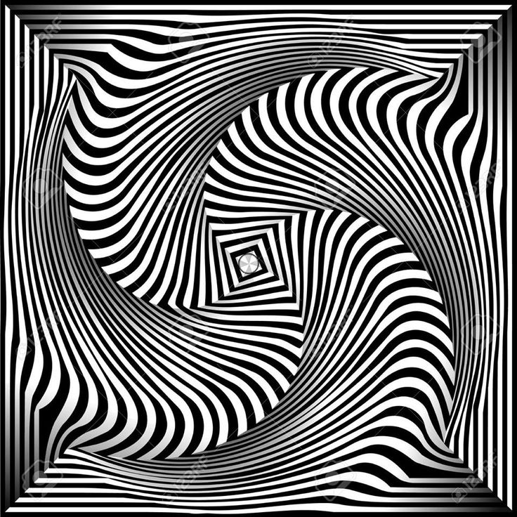 Line Art Illusion : Best op art images on pinterest optical