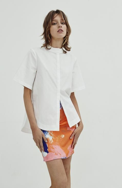Jillian Boustred / Gallery Shirt - Akagu