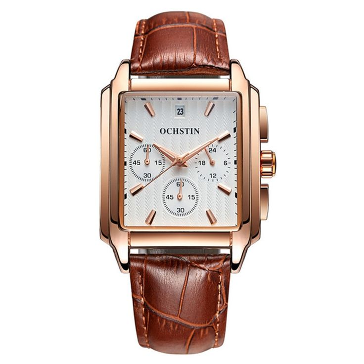 19.00$  Watch here - http://aliiyt.shopchina.info/go.php?t=32807201649 - Relogio Masculino Men Military Watches Leather Strap Watches Men Brand Luxury Dress Casual Retro Rectangle Dial Quartz Watch  19.00$ #buyininternet