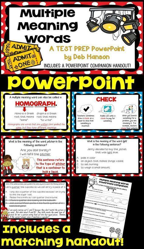 Best 25 powerpoint word ideas on pinterest cubby labels desk multiple meaning words powerpoint ccuart Choice Image