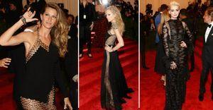 Celebridades brilham usando vestidos pretos no tapete vermelho do baile do Met - Gisele Bündchen, Miley Cyrus, Anne Hathaway e Jessica Alba mostraram atitude punk - e um corpo em forma - ao desfilarem seus vestidos pretos no red carpet do baile do Met. Confira 15 modelos do evento