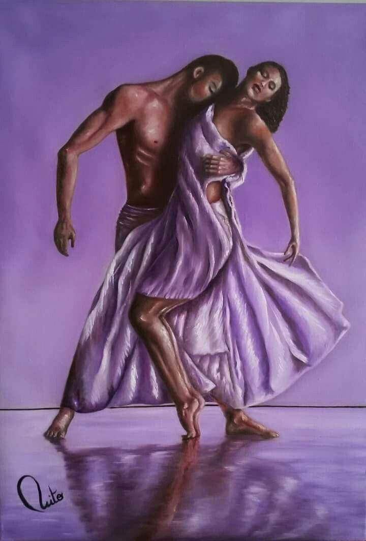 Danza en malva