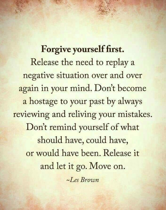 I need to remember this.. I struggle w forgiveness