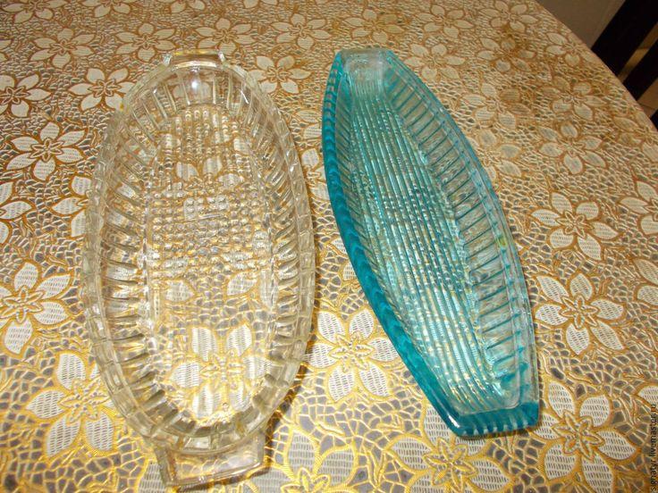 Купить Предметы для сервировки СССР винтаж - комбинированный, селедочница, солонка, разетка, винтажная посуда
