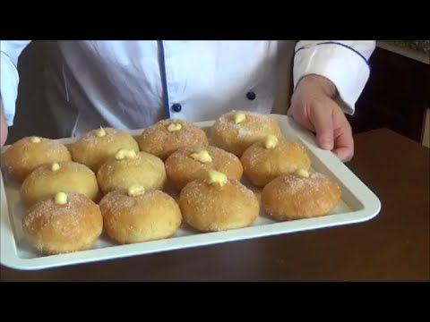 krapfen Bomboloni, alla crema Chef Stefano Barbato