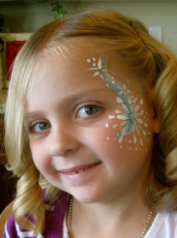 17 best images about face painting on pinterest face for Frozen face paint