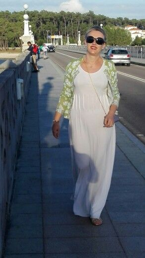 Vestido malha de seda. By Alda Faria
