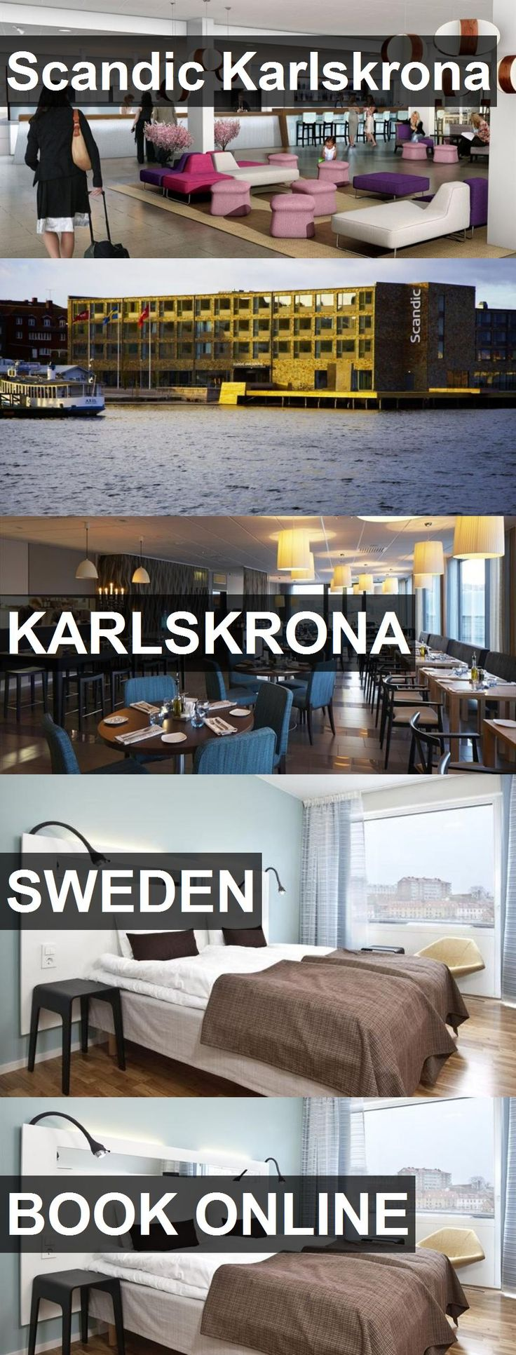 Hotel Scandic Karlskrona in Karlskrona, Sweden. For more information, photos, reviews and best prices please follow the link. #Sweden #Karlskrona #travel #vacation #hotel