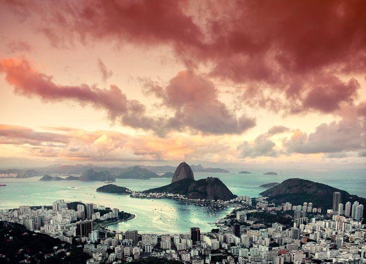 Rio de Janeiro II by Isac Goulart, via 500px