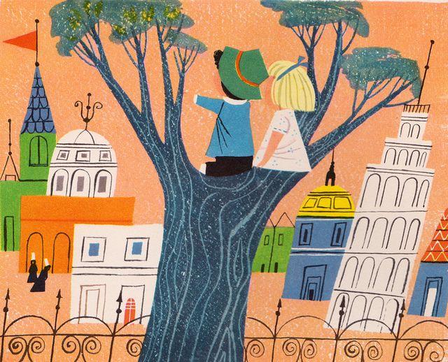 vintage children's book illustrations -- a child's garden of verses by robert…