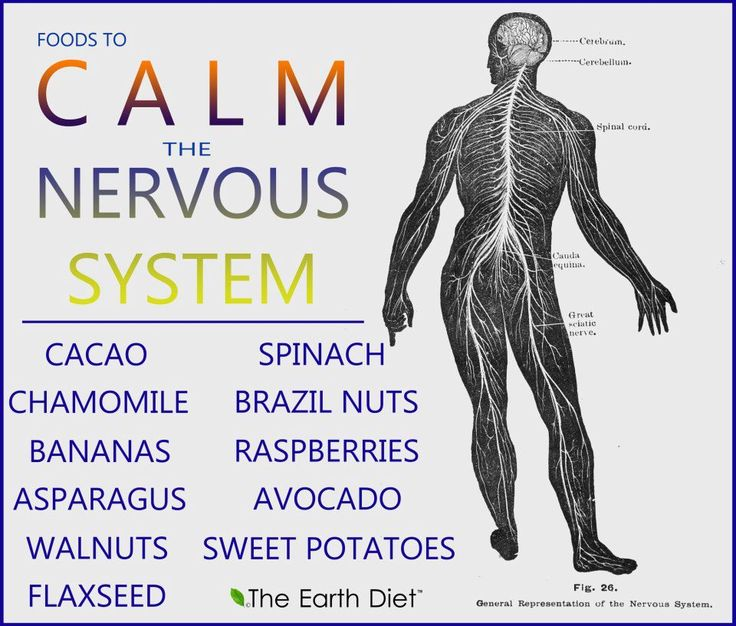 #Healthy foods to calm the nervous system