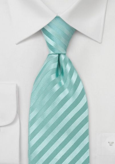This one is handsome. Elegant silk tie in mint green. Great price. Bows n Ties