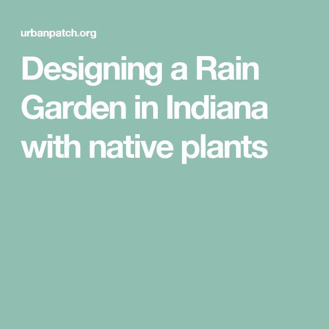 Indiana Native Plants: 12 Best Berm Images On Pinterest