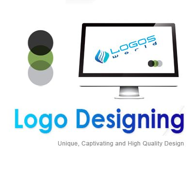 With Logos World's free online logo creator software, logo designing can be made affordable and an interesting process.