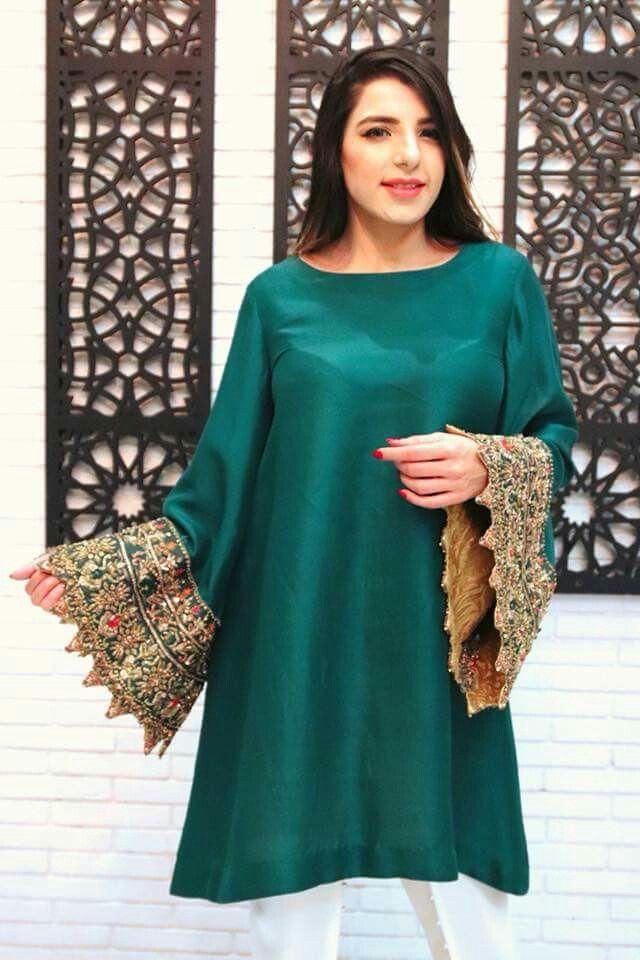Pakistani fashion. trends. green. emerald
