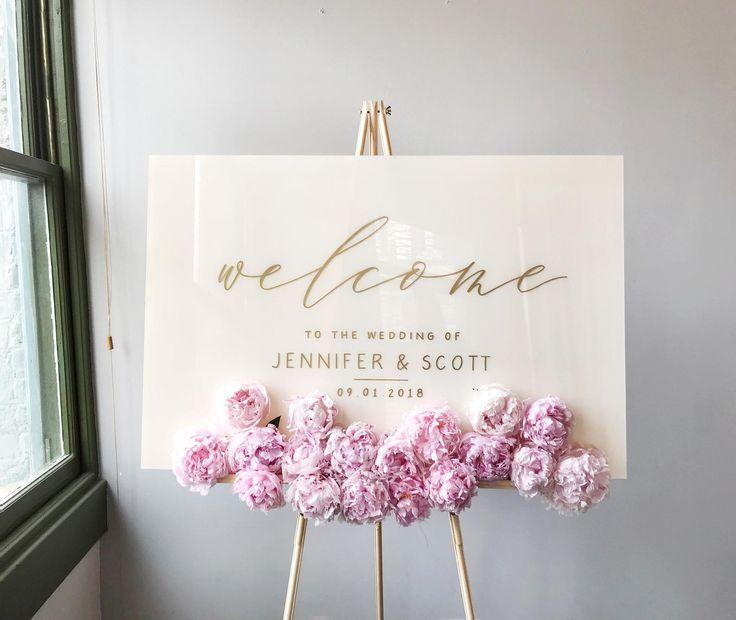 Acryl Hochzeit Zeichen White Plexiglas Hochzeit Willkommensschild Hochzeit Willkommen Hochzeit Willkommensschilder Willkommensschild Hochzeitskarten Ideen