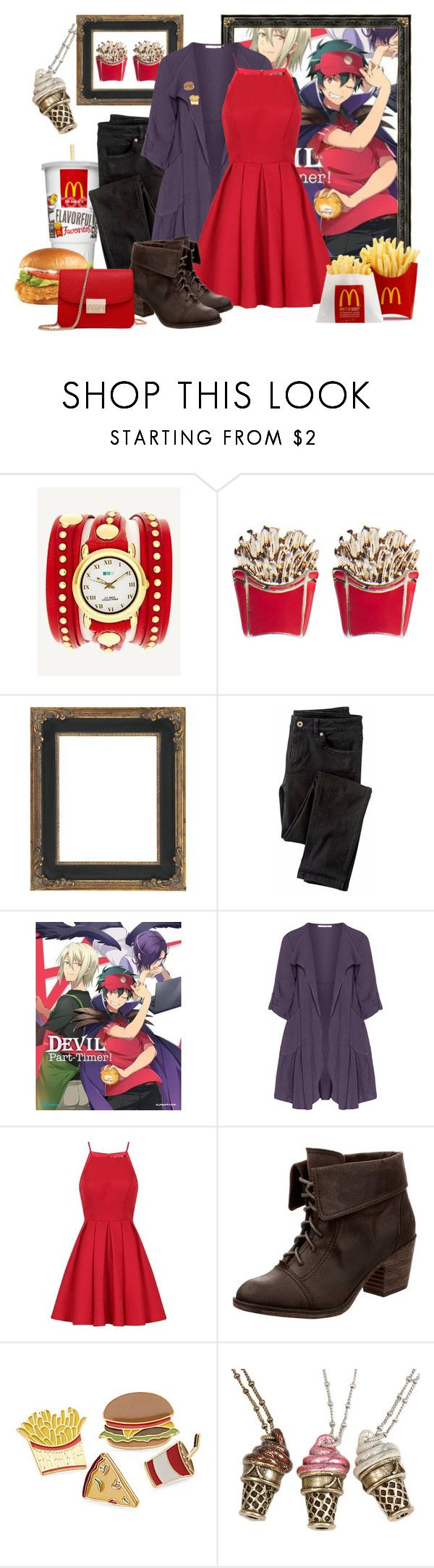 """The Devil Is a Part-Timer! - Sadao Maou / Satan"" by marielw97 ❤ liked on Polyvore featuring La Mer, Wet Seal, Wrap, Oliver Jung, Chi Chi, Rocket Dog, Simons and Sweet Romance"