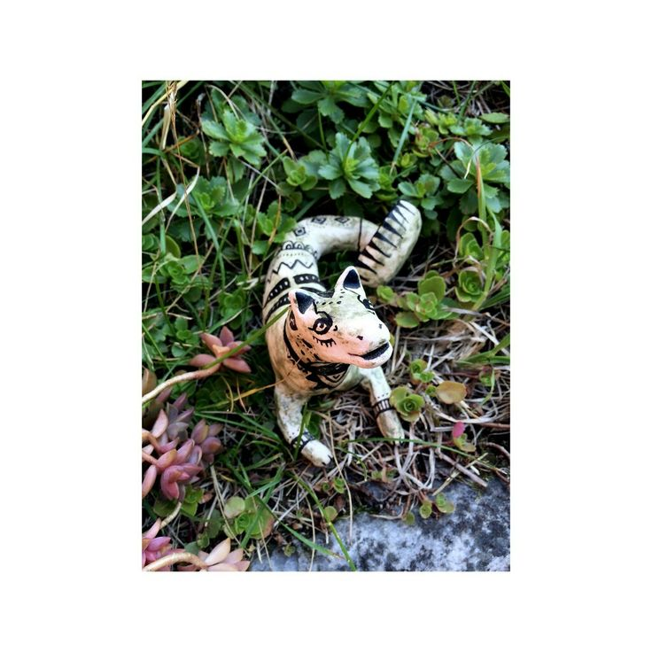 #stoneware #ceramic #figure by Sofia Karlström -- http://instagram.com/fiakarlstrom