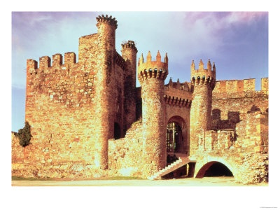 Castle of the Knights Templar - Spain